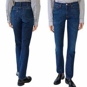 Blå Konst Acne Studio South Dark Blue Jeans 26